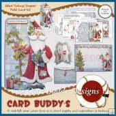 Glad Tidings Shaped Fold Card Kit