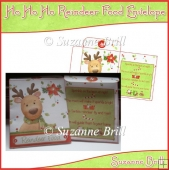 Ho Ho Ho Reindeer Food Envelope