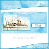 Sail Me Down The River Twisted Pyramage Card