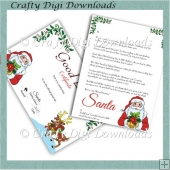 Good Letter Certificate & Letter From Santa