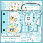 Sweetbabyboy 1 Word Book