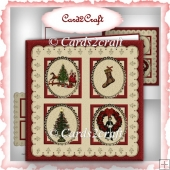 Christmas cameo card