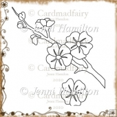 Blossom Digital Stamp