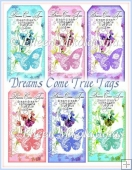 Dreams Come True Cottage Chic Tag Set