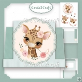 Pop up Bambi stepper card set