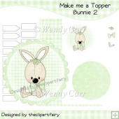 Make me a Topper - Bunnie 2(Retiring in August)
