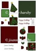 Christmas Topper Sheet 1