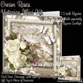 Cream Roses Victorian Mini Kit