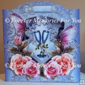 Say with Roses Back to Front Card Kit