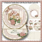 A Special Celebration Gift Round Easel Card Kit