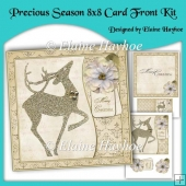 Precious Season 8 inch Card Front Kit