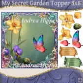 My secret Garden Topper