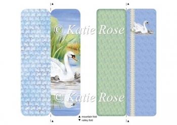 "Water's Edge ""Meet the Family"" Swans Bookmark Sheet"