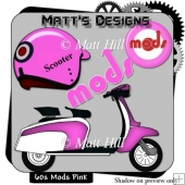 60's Mods in Pink
