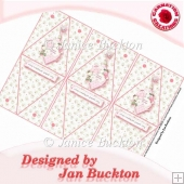 Pink Bauble Triangular Gift Boxes