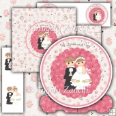 Wedding Day Plate Card & Box