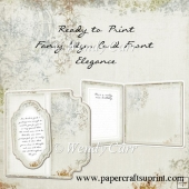 RTP Fancy Edger Card Front - Elegance(Retiring in August)