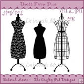 Dress Form Trio