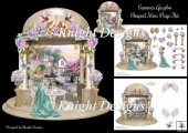 Summer Gazebo Shaped Mini Page Kit