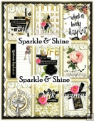 Sparkle & Shine ATC Set of 9 for Cards, Tags, Crafts