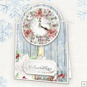 CHRISTMAS TIME CLOCK CARD