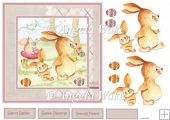 Rabbits Easter egg hunt 7x7
