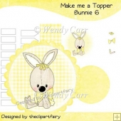 Make me a Topper - Bunnie 6(Retiring in August)