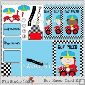 Boy Racer Card Kit