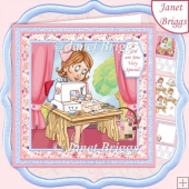 SEW VERY SPECIAL 7.8 Sewing Card Decoupage & Insert Mini Kit
