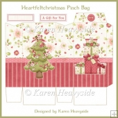 Heartfeltchristmas Pinch Bag