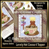 Lovely Hot Cocoa Topper 4