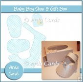 Baby Boy Shoe & Gift Box