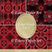 Printable Paper Bead Sheet Set 4