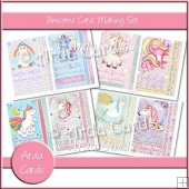 Unicorns Card Making Set