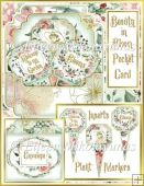 Beauty in Bloom Pocket Card Set with Plant Marker Inserts