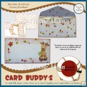Reindeer Greetings Money Envelope Kit