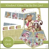 Woodland Wishes Pop Up Box Card