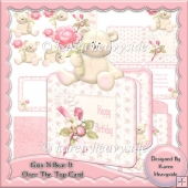 Grin N Bear It Over The Top Card