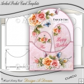 Arched Pocket Card Template