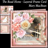 The Road Home - Layered Frame Card