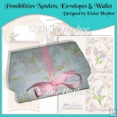 Possibilities Notelets, Envelopes, and Gift Wallet