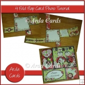 4 Fold Flap Card Photo Tutorial
