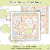 Easter Bunny Card Front & Decoupage