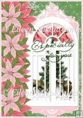 Especially for You Christmas Backing Background Paper