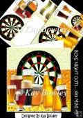 """BOYS NIGHT OUT!"" Darts night with Beers! 8x8 Mini kit"