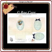 PS184 Vintage Lady Bag SHEET