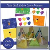 Little Chicks Bright Candy Pouches