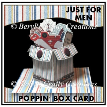 Just For Men - Poppin' Box Card