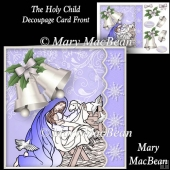 The Holy Child - Decoupage Card Front