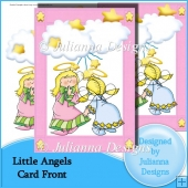 Little Angels Card Font/Topper